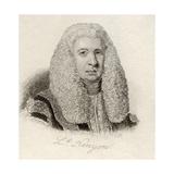Lloyd Kenyon, from 'Crabb's Historical Dictionary', Published 1825 Lámina giclée