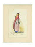 Mohametan Dress, Mujaydel, 1872 Giclee Print by Claude Conder
