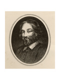 Sir Thomas Browne, Illustration from 'Varia: Readings from Rare Books' by J.Hain Friswell… Giclee Print by J. Cooper