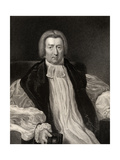 Reverend Robert Gray, Engraved by J. Jenkins, from 'National Portrait Gallery, Volume III',… Giclee Print by John William Wright
