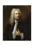 Portrait of George Frideric Handel, 1733 Giclee Print by Balthasar Denner