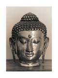 Head of Buddha Giclee Print