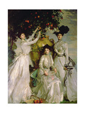 The Acheson Sisters Giclee Print by John Singer Sargent