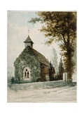 St Andrew's Church, Bemerton, C.1860 Giclee Print by Robert Kemm