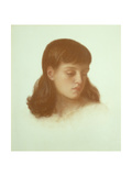 Jenny Morris (Aged 10 Years), 1871 Giclee Print by Dante Gabriel Rossetti