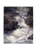 Waterfall at Ambleside, Seen Through a Window, 1807 Giclee Print by William Havell
