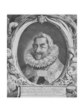 Portrait of Matthias, Holy Roman Emperor, Between 1627-1644, Etched by Pieter Van Sompel Giclee Print by Pieter Claesz Soutman