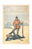 Great Britain Depicted as the 'Protector' of Egypt, Cartoon from 'Le Petit Journal', 11th… Giclee Print by Henri Meyer