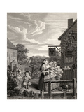 Times of the Day: Evening, from 'The Works of William Hogarth', Published 1833 Giclee Print by William Hogarth