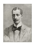 Prince Albert Victor, Duke of Clarence and Avondale, from 'The English Illustrated Magazine',… Giclee Print