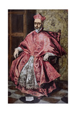 A Cardinal, C.1601 Giclee Print by  El Greco