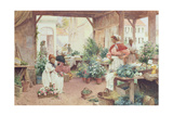 Early Morning Market, 1898 Giclee Print by Alfred, Jr. Glendening