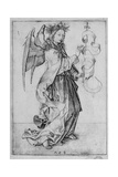 The Angel of the Annunciation Giclee Print by Martin Schongauer