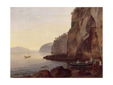 Cocumella Near Sorrento, 1827 Giclee Print by Carl Wilhelm Goetzloff