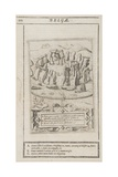 Stonehenge Set in the Hills, 1695 Giclee Print by Johannes Kip