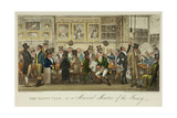 The Daffy Club, or a Musical Muster of the Fancy, Published in 1824 Giclee Print by Robert Cruickshank