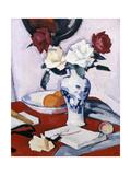 Rosas Lámina giclée por Samuel John Peploe