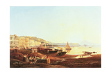 Mergellina Harbour, C.1831 Giclee Print by Carl Wilhelm Goetzloff