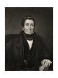 James Johnson, Engraved by W. Holl, from 'The National Portrait Gallery, Volume Iv', Published… Giclee Print by John Wood