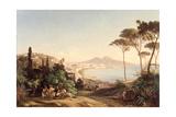 View of Naples, 1837/38 Lámina giclée por Carl Wilhelm Goetzloff