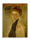 Portrait of a Jewish Boy Giclee Print by Isidor Kaufmann