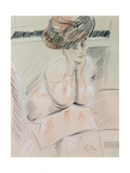 Portrait of a Lady Giclee Print by Paul Cesar Helleu