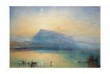 J. M. W. Turner - The Blue Rigi: Lake of Lucerne - Sunrise, 1842 - Giclee Baskı