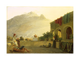The Sentry on Ischia, 1829 Giclee Print by Carl Wilhelm Goetzloff