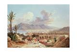 Palermo Di Belmonte, C.1831 Giclee Print by Carl Wilhelm Goetzloff