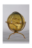 Terrestrial Globe, One of a Pair known as the 'Brixen' Globes, C.1522 Giclee Print by Martin Waldsemuller