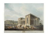 View of the New Council House, Salisbury, 1798 Giclee Print by Edward Dayes