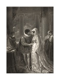 A Room in Portia's House, Act III, Scene II, from 'The Merchant of Venice', from the Boydell… Giclee Print by Richard Westall