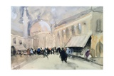A Market Scene in North Africa, Possibly Cairo Giclee Print by Hercules Brabazon Brabazon