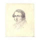 Self Portrait, C.1825 Giclee Print by Carl Wilhelm Goetzloff