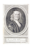 Monsieur De St Evremont Giclee Print by Sir Godfrey Kneller