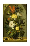 Still Life of Flowers, C.1705 Giclee Print by Johann Adalbert Angermeyer
