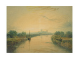 On the River Ouse Giclee Print by Joseph Mallord William Turner
