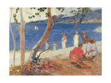 By the Sea, 1887 Giclee Print by Paul Gauguin