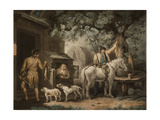 The Sportsman's Return, Engraved by William Ward (1766-1826) Giclee Print by George Morland