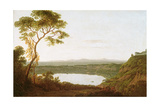 Lake Albano, C.1790-92 Giclee Print by Joseph Wright of Derby