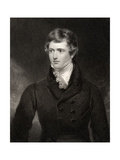 Edward George Geoffrey Smith Stanley, Engraved by H. Robinson, from 'National Portrait Gallery,… Giclee Print by George Henry Harlow