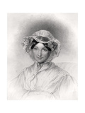 Frances Trollope, Engraved by W. Holl, from 'The National Portrait Gallery, Volume Iv', Published… Giclee Print by Lucy Adams