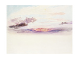 The Sky at Dawn Giclee Print by J. M. W. Turner