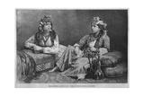 Muslim Women of Sidon, from 'La Syrie D'Aujourd'Hui. Voyages Dans La Phenicie, Le Liban Et La… Giclee Print