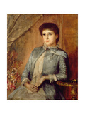 Portrait of Lily Langtry, 1884 Giclee Print by George Frank Miles