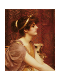 A Classical Beauty, 1892 Giclee Print by John William Godward