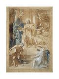 The Institution of the Eucharist, C.1603 Giclee Print by Federico Fiori Barocci or Baroccio