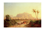 View of Palermo, C.1831 Giclee Print by Carl Wilhelm Goetzloff
