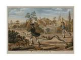 Coursing the Hare, Printed for Bowles and Carver, Published in 1796 Giclee Print by Richard Dighton