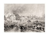 The Attack on Fredericksburg, Virginia, from 'National History of the War for the Union', 1860s Giclee Print by Alonzo Chappel